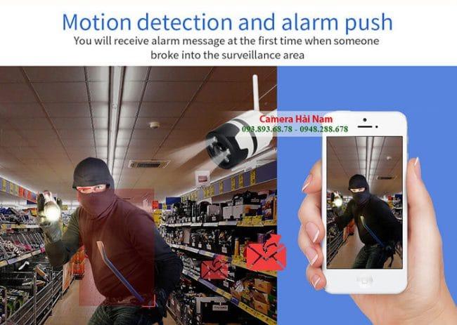 Nên lắp camera chống trộm báo qua điện thoại không dây wifi hay có dây?