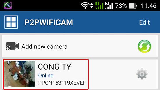 Xem camera ip wifi trực tiếp trên điện thoại
