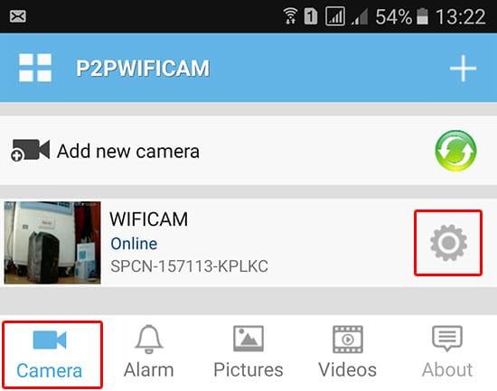 Hướng dẫn cách tahy đổi mật khẩu cho camera wifi