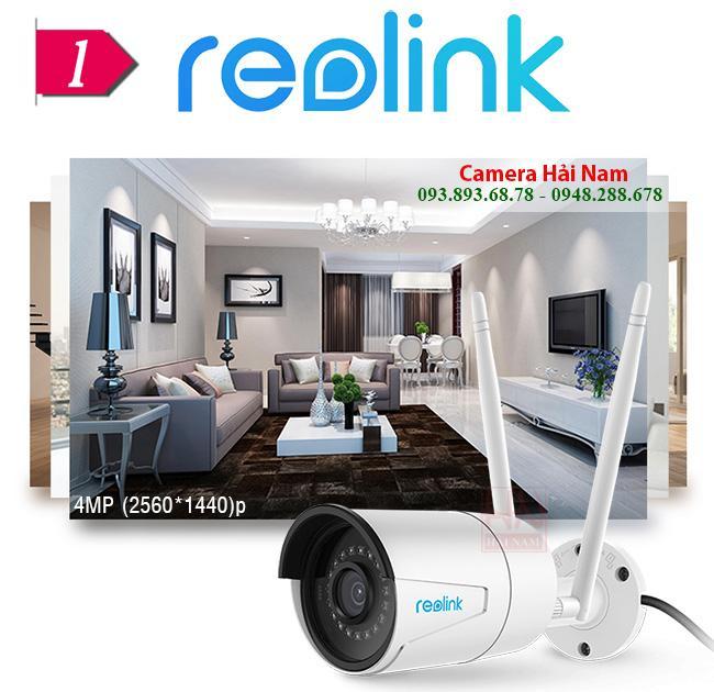 camera wifi Reolink RLC 410W 4MP 11