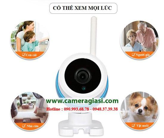 Camera ip wifi hồng ngoại quan sát mọi lúc mọi nơi