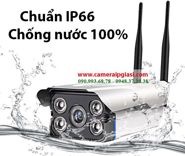 Camera IP ngoài trời Chống nước vượt trội 100%