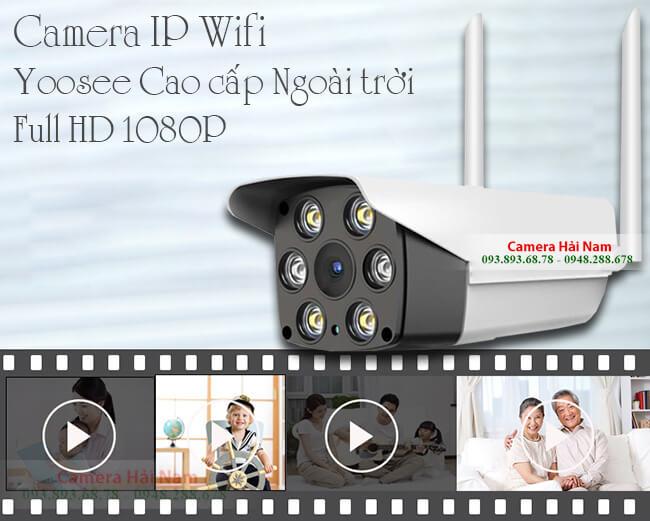 Camera Wifi Ngoài trời Yoosee 2.0M Full HD 1080P có Hồng ngoại, Đàm thoại, Hình màu ban đêm... chỉ từ 950K