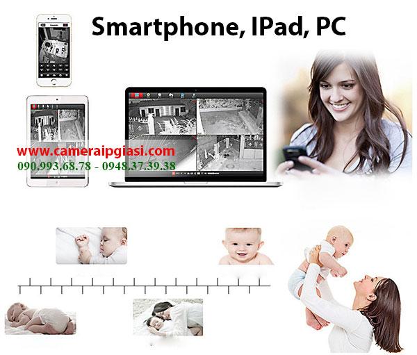 Camera IP Wifi sử dụng ngoài trời, không dây tiết kiệm