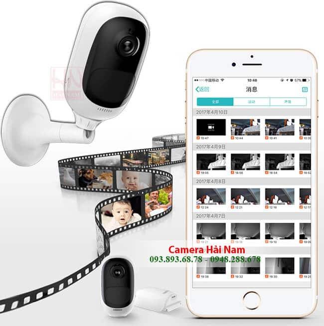 camera quan sát qua điện thoại