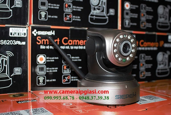 Photo of Camera Siepem S6203 Plus, Camera ip wifi S6203 Plus giá rẻ nhất