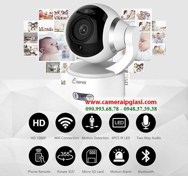 Camera ip Keeper K5 đỉnh cao công nghệ
