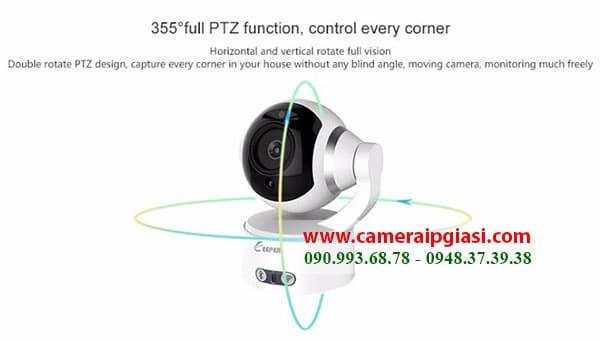 Photo of Camera ip không dây kết nối với điện thoại + Bluetooth nghe nhạc
