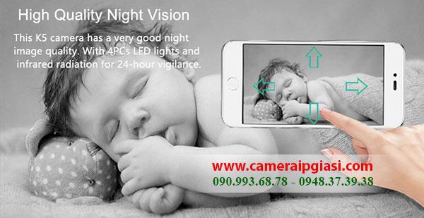 Camera Keeper K5 quan sát hình ảnh siêu nét