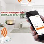 Camera ip wifi quan sát an ninh gia đình