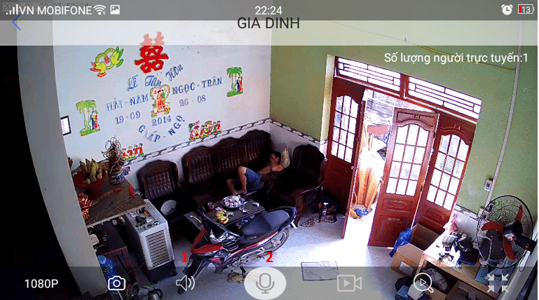 Camera Keeper Full HD 1080P