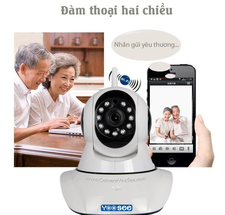 Đàm thoại 2 chiều nhờ Camera Yoosee 1.3M HD 960P