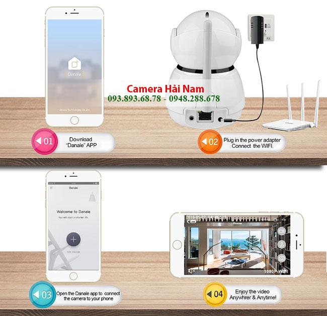Camera IP Wifi dành cho gia đình