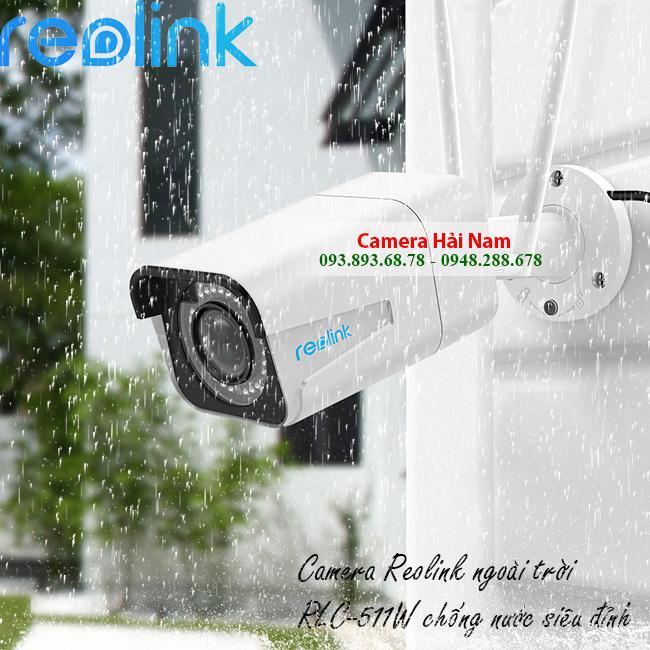 camera wifi ngoai troi reolink 5mp RLC 511W 11