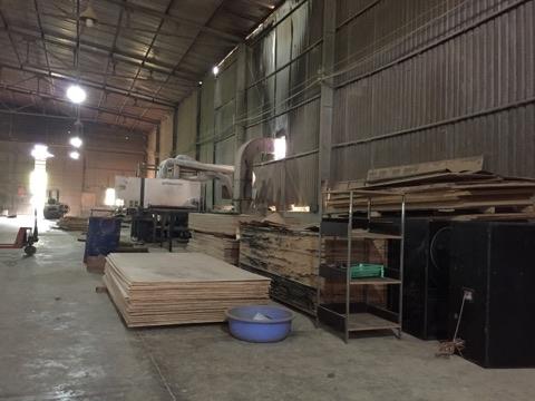 Camera wifi quan sát xưởng sản xuất gỗ ván ép