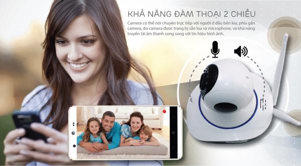 Camera quan sát không dây thông dụng cho gia đình