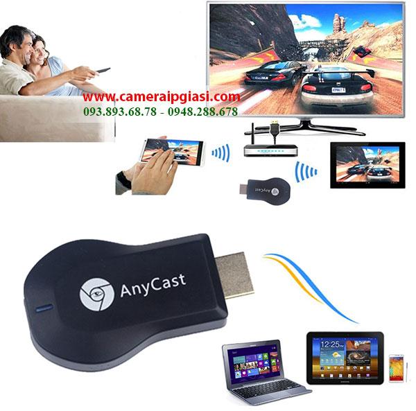 Photo of HDMI không dây Anycast M2 Plus kết nối đa phương tiện với Tivi giá rẻ nhất