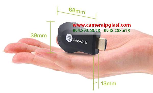 Kích thước của Thiết bị HDMI không dây AnyCast M2 Plus