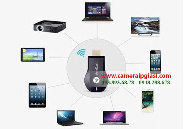 Thiết bị HDMI không dây AnyCast M2 Plus kết nối đa phương tiện