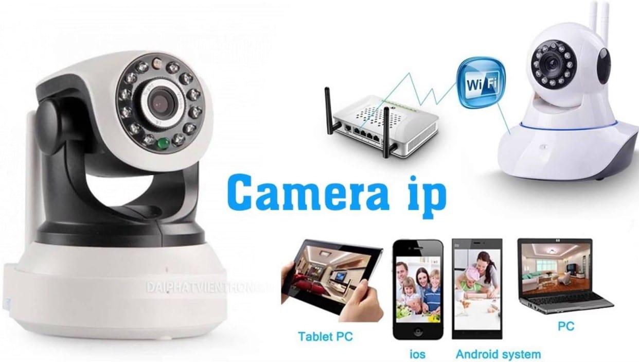 Camera quan sát thông dụng kết nối không dây tiện lợi, dễ sử dụng