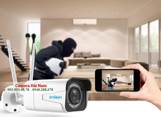 Camera chống trộm Wifi không dây cho gia đình [CAO CẤP, GIÁ RẺ]