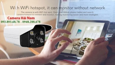 camera ip wifi siêu nét hải nam