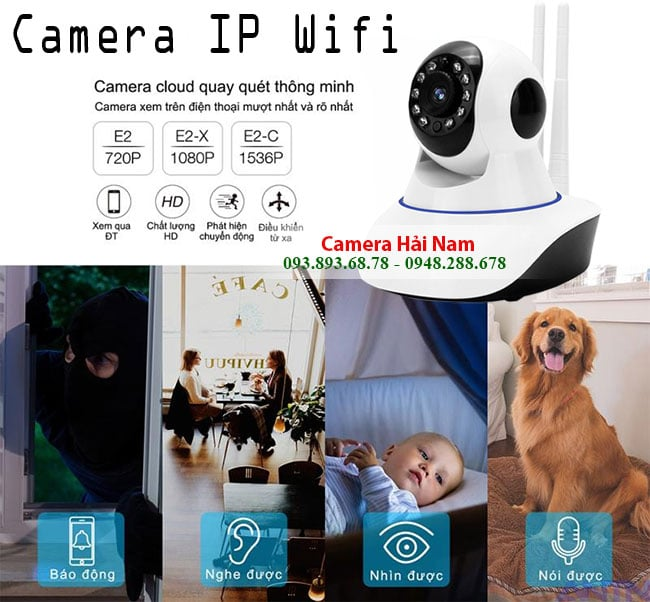 camera ip wifi yoosee 2 rau 124