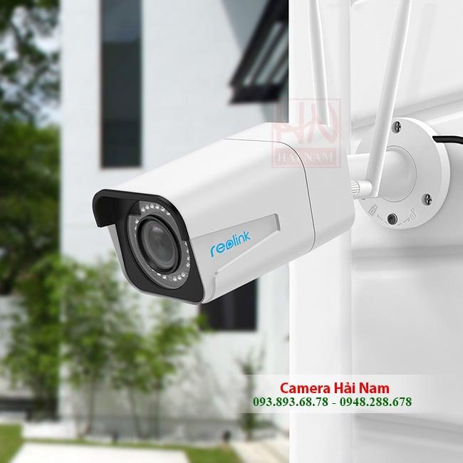 Camera giám sát wifi ngoài trời siêu sắc nét Reolink RLC-511W 2K (2560*1920)p, Siêu Zoom quang 4X, IR 30m