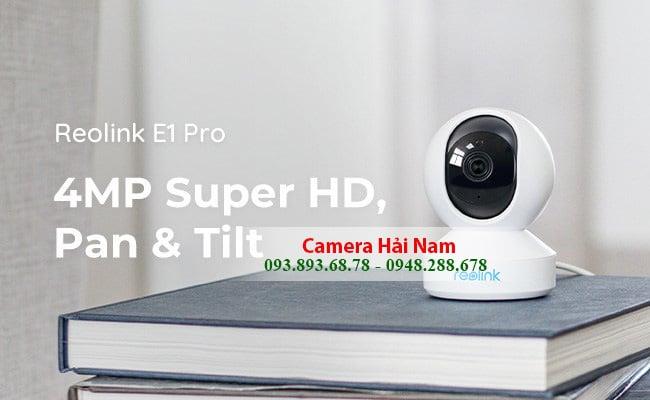 Camera giám sát siêu nét Reolink E1 Pro 4.0M (2560x1440)p Super HD chính hãng Hồng Kông