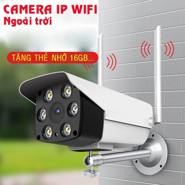 Camera an ninh wifi Yoosee ngoài trời Cao cấp Full HD 1080P có Màu ban đêm, Đàm thoại, Báo trộm thông minh