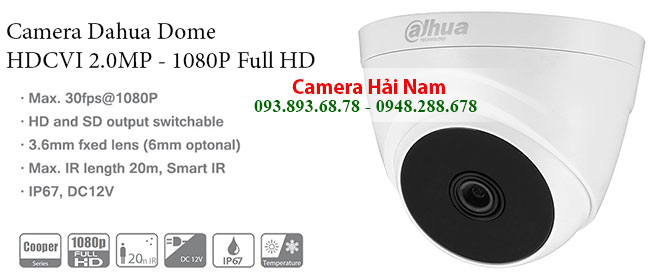 Camera Dahua Dome HDCVI 2.0M