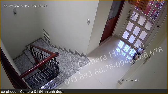 Lắp đặt camera Dahua cho gia đình anh Long ở TP.HCM