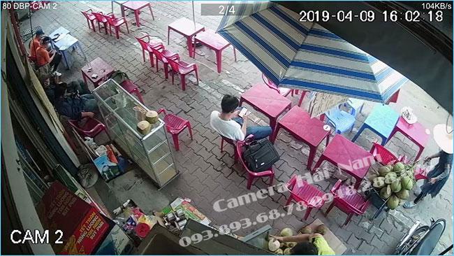 Camera Dahua quan sát nhà anh Minh ở quận Bình Thạnh, TP.HCM