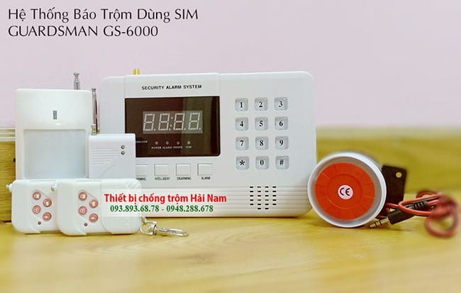 Thiết bị chống trộm báo qua điện thoại nào tốt nhất hiện nay