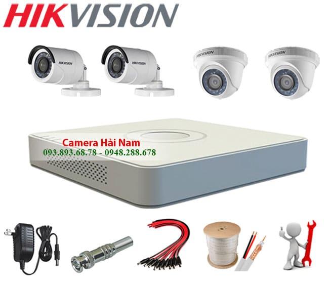 camera hikvision 1.0M HD 720P