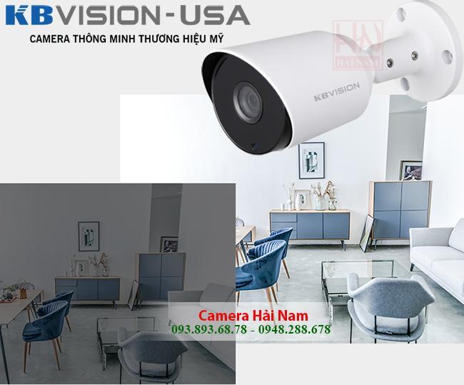 Camera KBVision - Lắp đặt trọn bộ 4 Camera KBVision HD/Full HD, Công nghệ mới 4 trong 1 Giá rẻ bất ngờ
