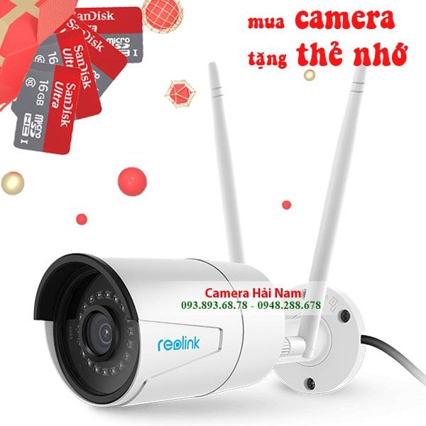 Camera quan sát ngoài trời cao cấp Reolink RLC-410W 4MP Siêu nét