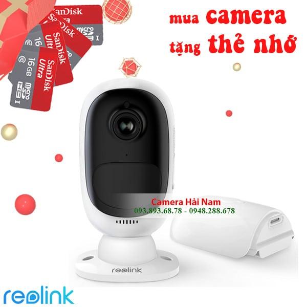 Camera chống trộm dùng pin Reolink Argus 2
