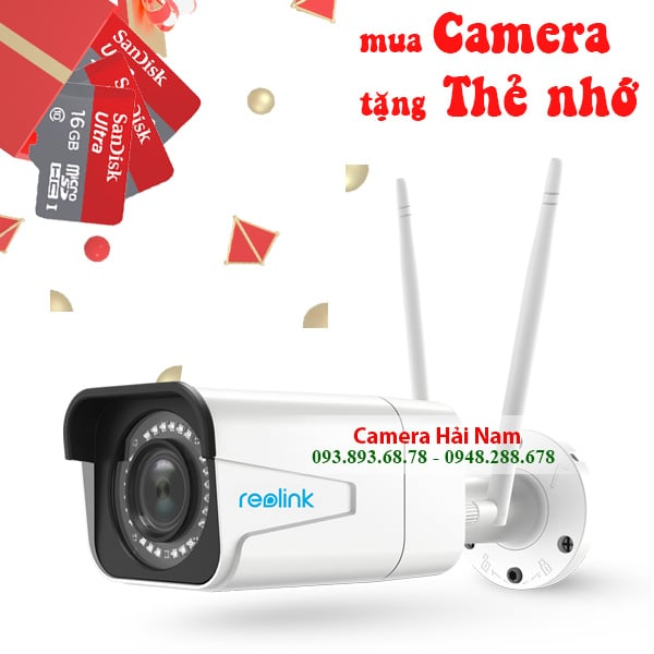 Camera chống trộm ban đêm cực chuẩn Reolink RLC-511W