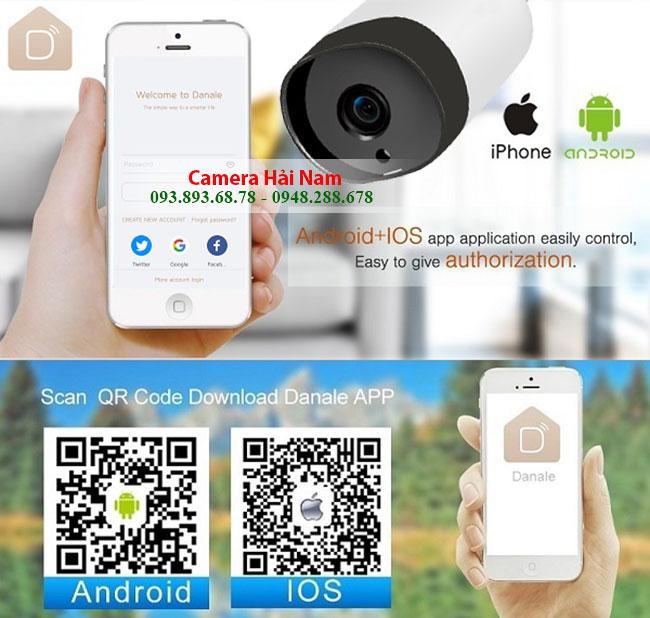 Danale - Hướng dẫn LINK Tải & Cài đặt CMS Danale xem camera wifi Hải Nam trên Điện thoại, Máy tính, PC