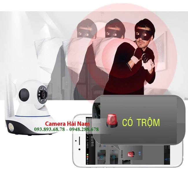 Nên lắp camera chống trộm báo qua điện thoại loại KHÔNG DÂY WIFI hay CÓ DÂY?