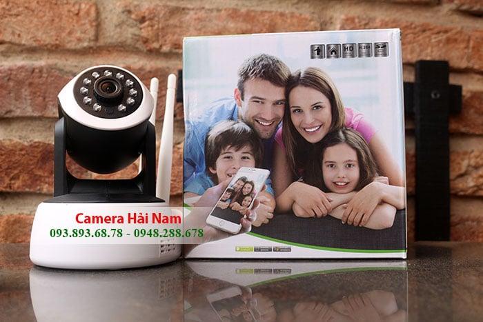 Lắp đặt camera an ninh hồng ngoại, quay 360 xem bằng điện thoại giá rẻ