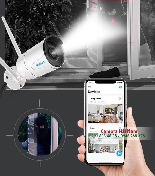 Lắp đặt camera an ninh hồng ngoại, quay 360 xem bằng điện thoại giá rẻ nhất TPHCM