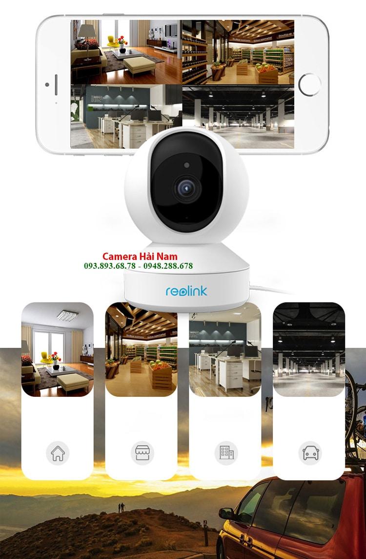 Camera IP Reolink E1 Pro 4MP Super HD Siêu nét, Thông minh, Đẳng cấp Châu Âu