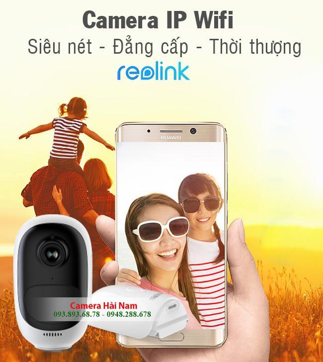 Camera không dây dùng pin Reolink Argus 2 Full HD, góc siêu rộng 130 độ