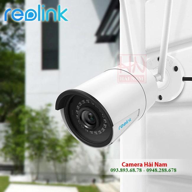 Camera Wifi Ngoài trời Reolink RLC-410W 4MP [2560x1440]p Super HD, Hồng ngoại siêu xa 30m
