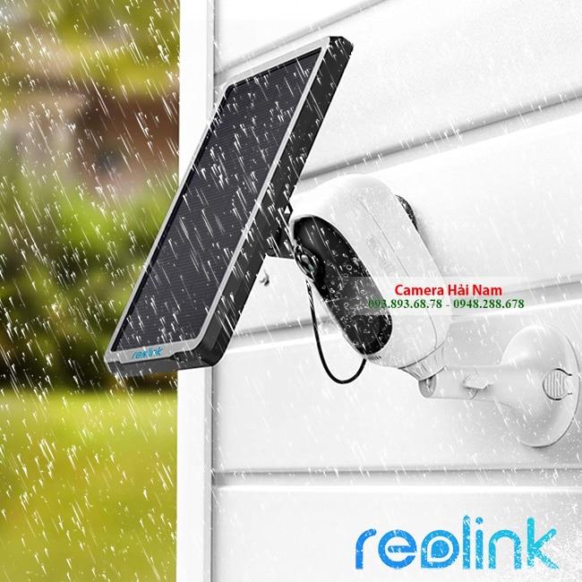 Camera Wifi dùng PIN Reolink Argus 2 HD 1080P, góc siêu rộng 130°, kết hợp được PIN mặt trời