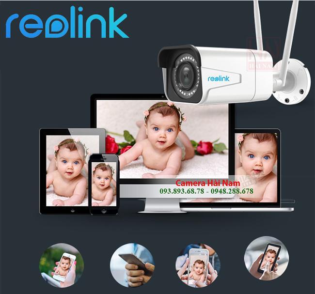 Camera ngoài trời tốt nhất Reolink RLC-511W Siêu Zoom 4X, Siêu nét 5MP - 2K [2560*1920]p, IR 30m, Starlight
