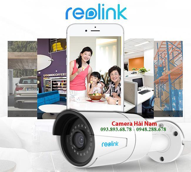 Camera wifi ngoài trời không dây Reolink RLC-410W 4MP đẳng cấp siêu nét Super HD, IR 30m, NVR ghi âm thông minh