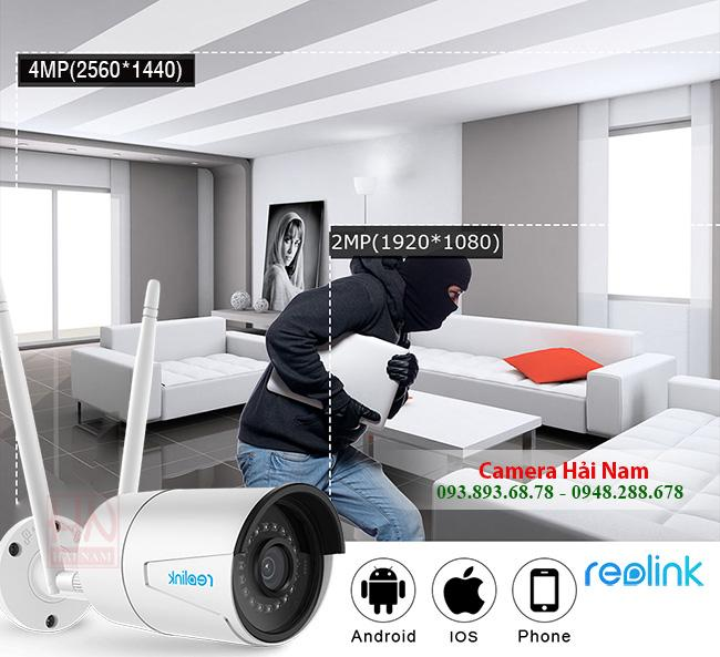 camera wifi Reolink RLC 410W 4MP 4